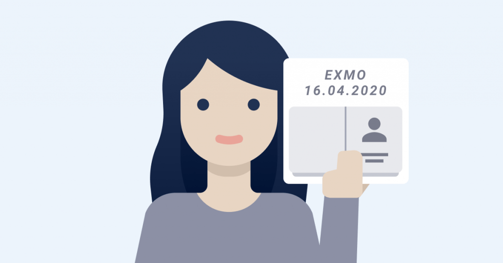 How to pass verification on EXMO