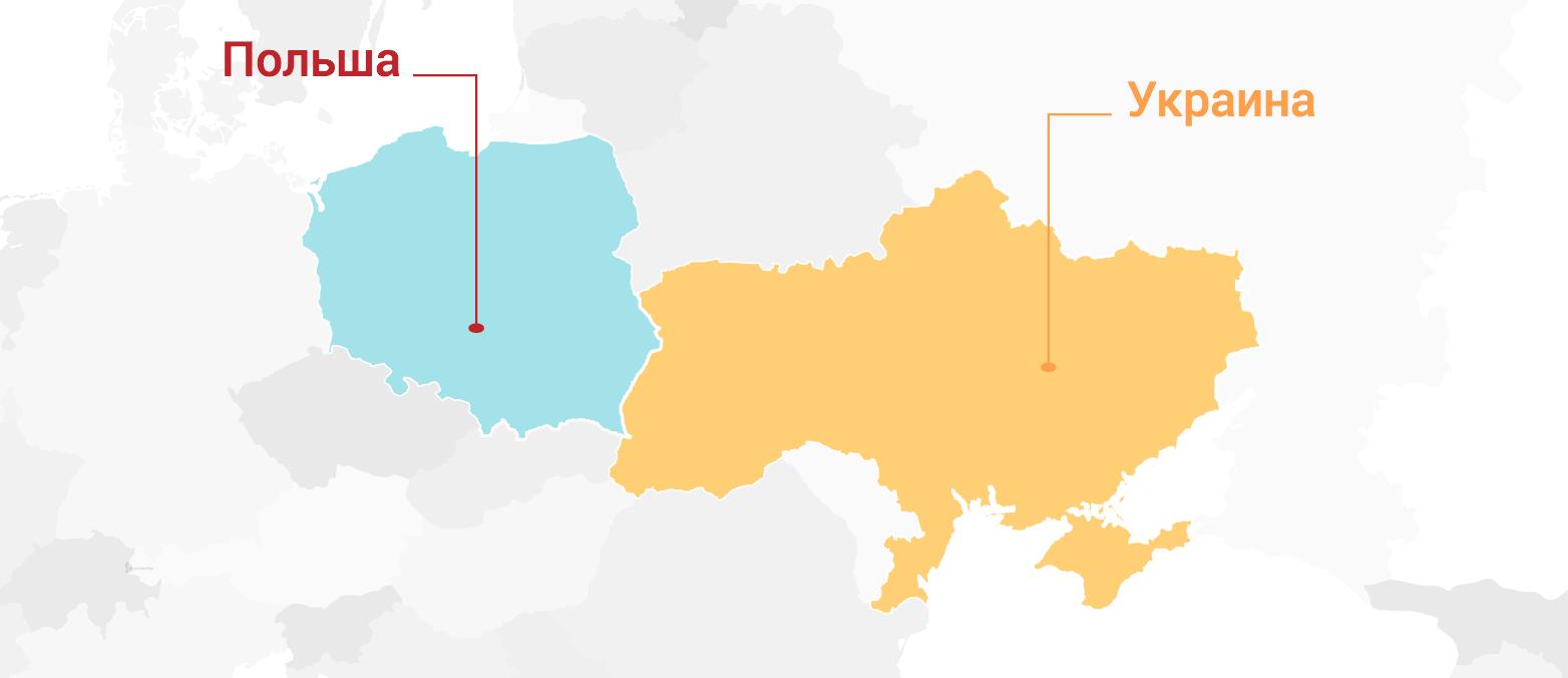 Выход на рынок Польши и Украины