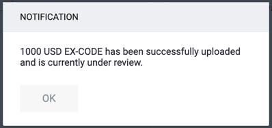 EX-CODE: Important Update