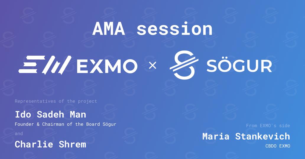 EXMO and Sögur Joint Telegram AMA Session
