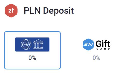 Deposit PLN